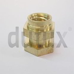 Offset Hex Brass Insert