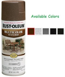 Rust Oleum Stops Rust Multicolour Textured Spray Paint