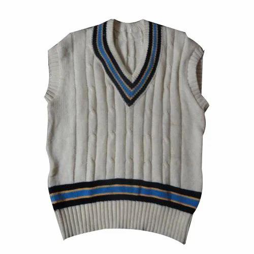 Mens Half Sleeve Sweater