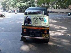 Auto Rickshaw Hood Advertising