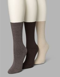 Cotton Seamless Rib Men High Class Socks