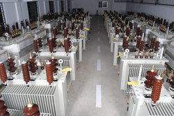 5MVA 3-Phase Oil Cooled Corrugated Type Transformer