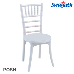 Posh Plastic Chiavari Wedding Chair