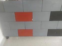 Rectangle Plain Interlocking Bricks