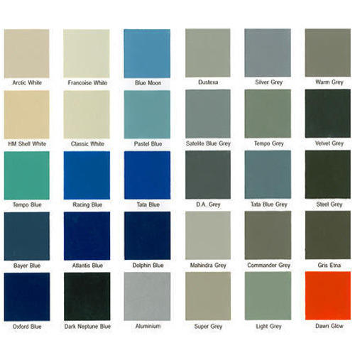 Shade Cards For Synthetic Enamel Paints At Rs 12 /card