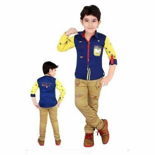 kids cotton pant shirt