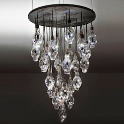 Decorative Led Chandelier Light एलईड