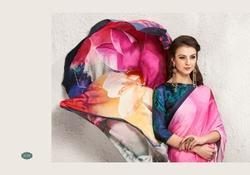 Trendy Digital Printed Saree