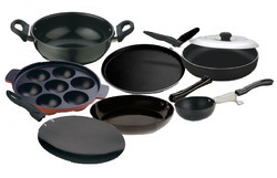 Round No Sick Nonstick Cookware Sets