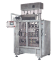 Automatic Multitrack Powder Pouch Packing Machine