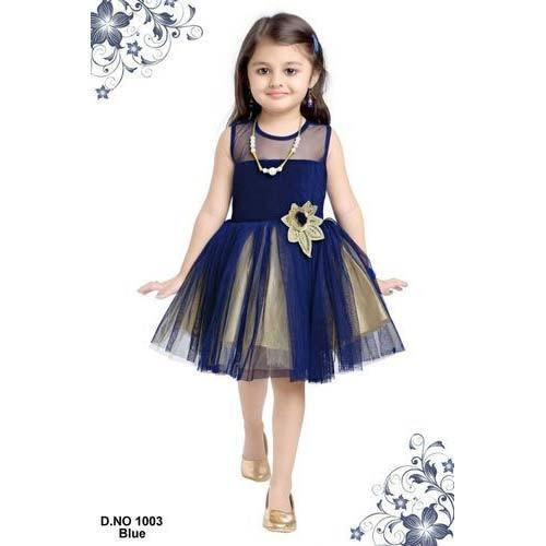 d9893f921a5e Fancy Baby Frock at Rs 625 /piece | बच्चे की फ्रॉक ...