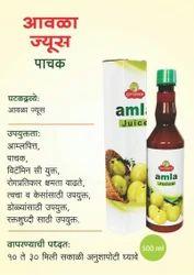 Ayursanskar Amla Juice, Pack Size: 500