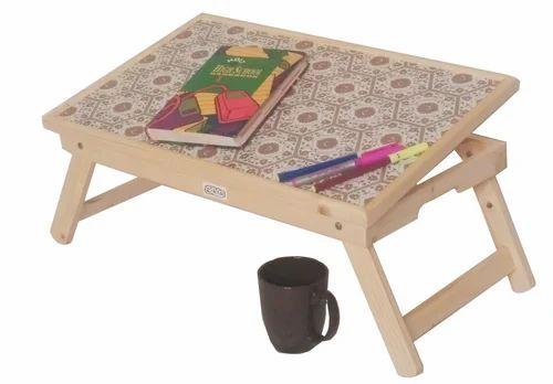 Ekta Product Brown Kids Folding Table A1 Rs 1 Piece Id 6998963491