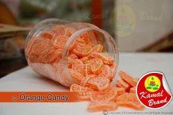 Unwrapped Orange Candy