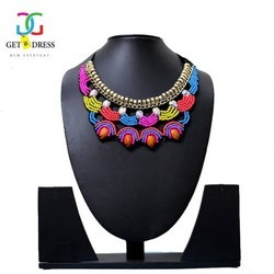 Multicolor Traditional Kundan Necklace Set