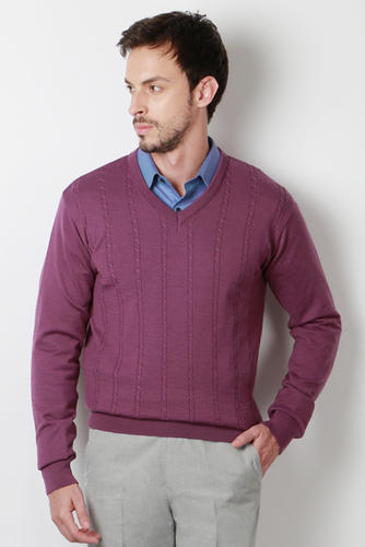 Peter England Purple Sweater at Rs 2199 | Gents Sweater - Peter ...