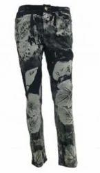 Carbon Print Jeans