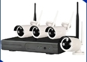 CCTV NVR Wireless Camera Kit 4 Ch