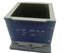 Cast Iron Cube Mould