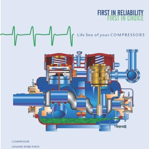 Refrigeration Piston Ammonia Compressors - Air Cooled Ammonia
