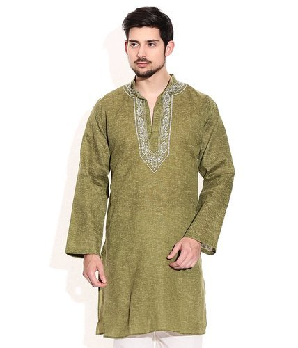 7c74e91e508 Mens Cotton Kurta With Embroidery at Rs 275  piece(s)