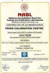 NABL Tharmal certificate