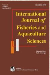 International Journal of Fisheries and Aquaculture Sciences