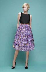 Designer Purple Dress