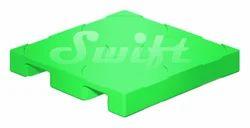Swift Green Drum Pallets, Capacity: 200 L