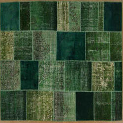 Green Patches Rugs