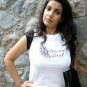 White Girl Casual T-shirt