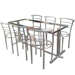 Stainless Steel Dining Table At Rs 21000 /set | SS Dining Table, Stainless  Steel Ki Khana Khane Wali Mej   S M Enterprises, Bengaluru | ID: 12997963555