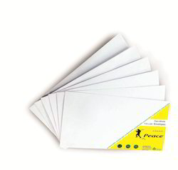 110 x 220 mm White Paper Envelope