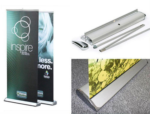 Promotional Standee Luxury Roll Up Standee Manufacturer