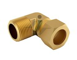 Brass 90 Degree Male Elbow - Connector