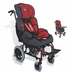 Comfortable Back Wheelchair