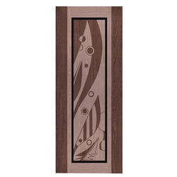 PVC Designer Digital Door