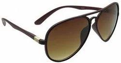 Aviator Black Gents Sunglasses