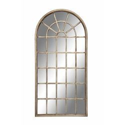 Brown Upvc Arched Window