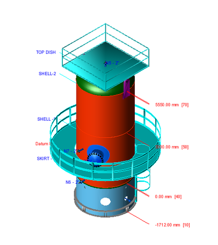 Mechanical Design Of Vertical Skirt Supported Vessel in New
