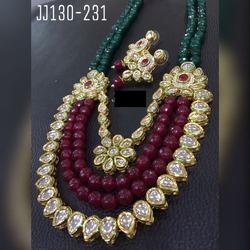 Beautiful Bridal Kundan Necklace