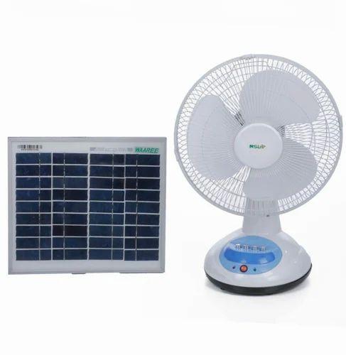 Solar Dc Fan Ed By Li Ion Battery D