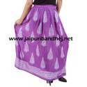 Khadi Printed Skirt