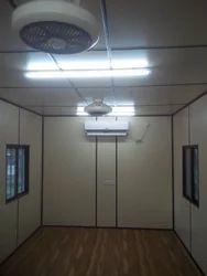 Steel Designer Office Cabin