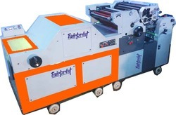 Double Color Poly Bag Printing Machine