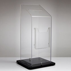 Acrylic Floor standing Suggestion Box
