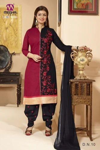 2861ce038d Short Designer Patiala Salwar Kameez, शॉर्ट डिज़ाइनर ...