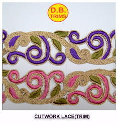 Fancy Embroidered Cut Work Lace