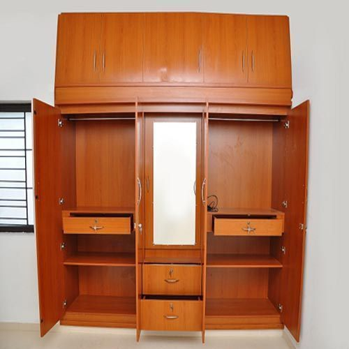 Solid Wooden Wardrobe At Rs 1300 /square Feet(s)