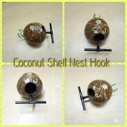 Coconut Shell Nest Hook